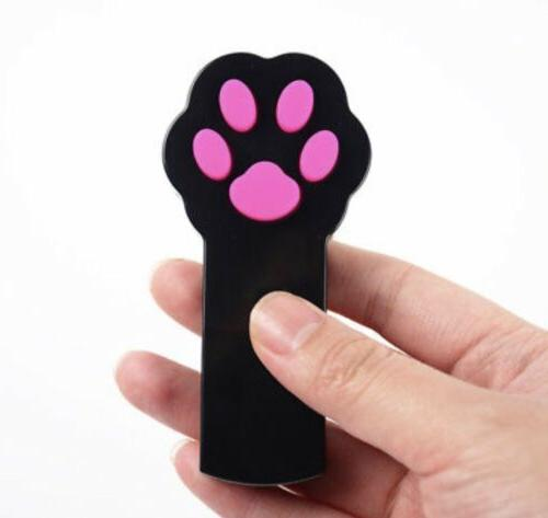 Pet Cat Paw Chaser Interactive LED Laser Light Pointer Pet E