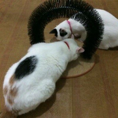 Pet Massage Scratching Bristles Toys Grooming Brush