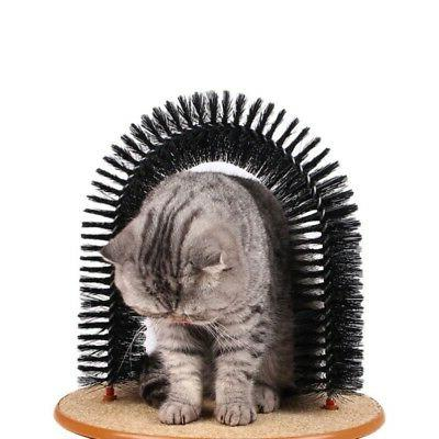 Pet Cat Massage Scratching Grooming Brush Toy