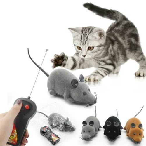 Pet Cat Puppy Toy Wireless Remote Control Electronic Rat Mou