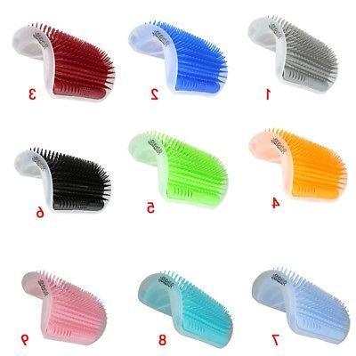 Pet Groomer Brush Wall Massage Comb Toy Catnip Lot US
