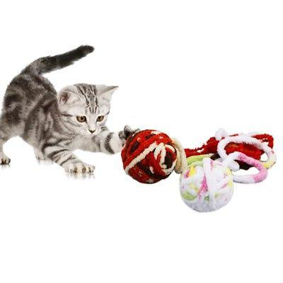 String Plush Ball Rolling Playing Interactive Toys