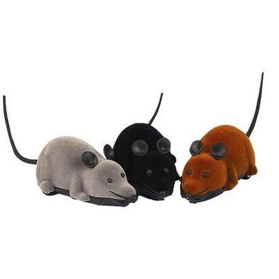 US Pet Dog Cat Electric RC Rat Mouse Wireless Remote Control