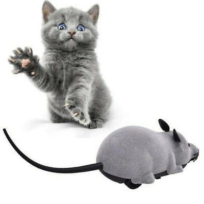 Pet Cat Dog Remote Control Mouse Rat  Wireless Play Interact