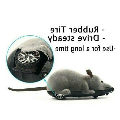 Funny Remote Control Mouse Rat Toy Wireless Pet Cat Dog Gift