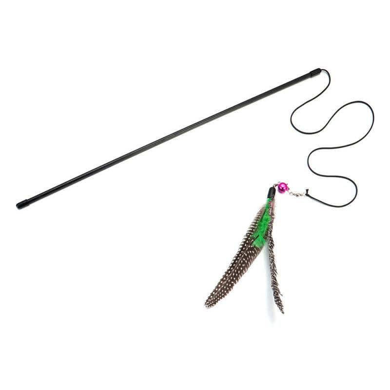 Pet Toys Cute Nature Wand Supplies NEW
