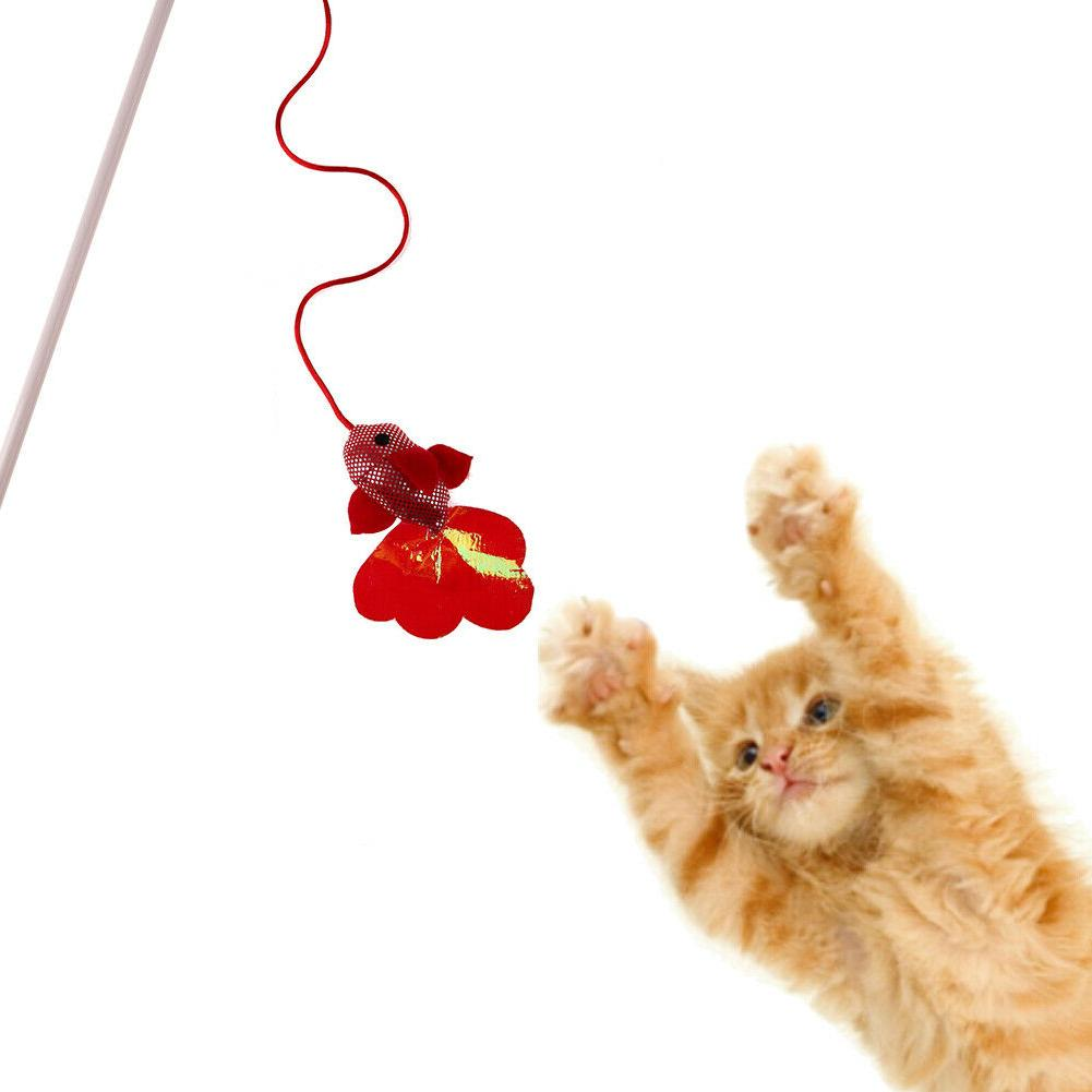 Pet Toys Cat Stick Teaser Wire Cat Toy