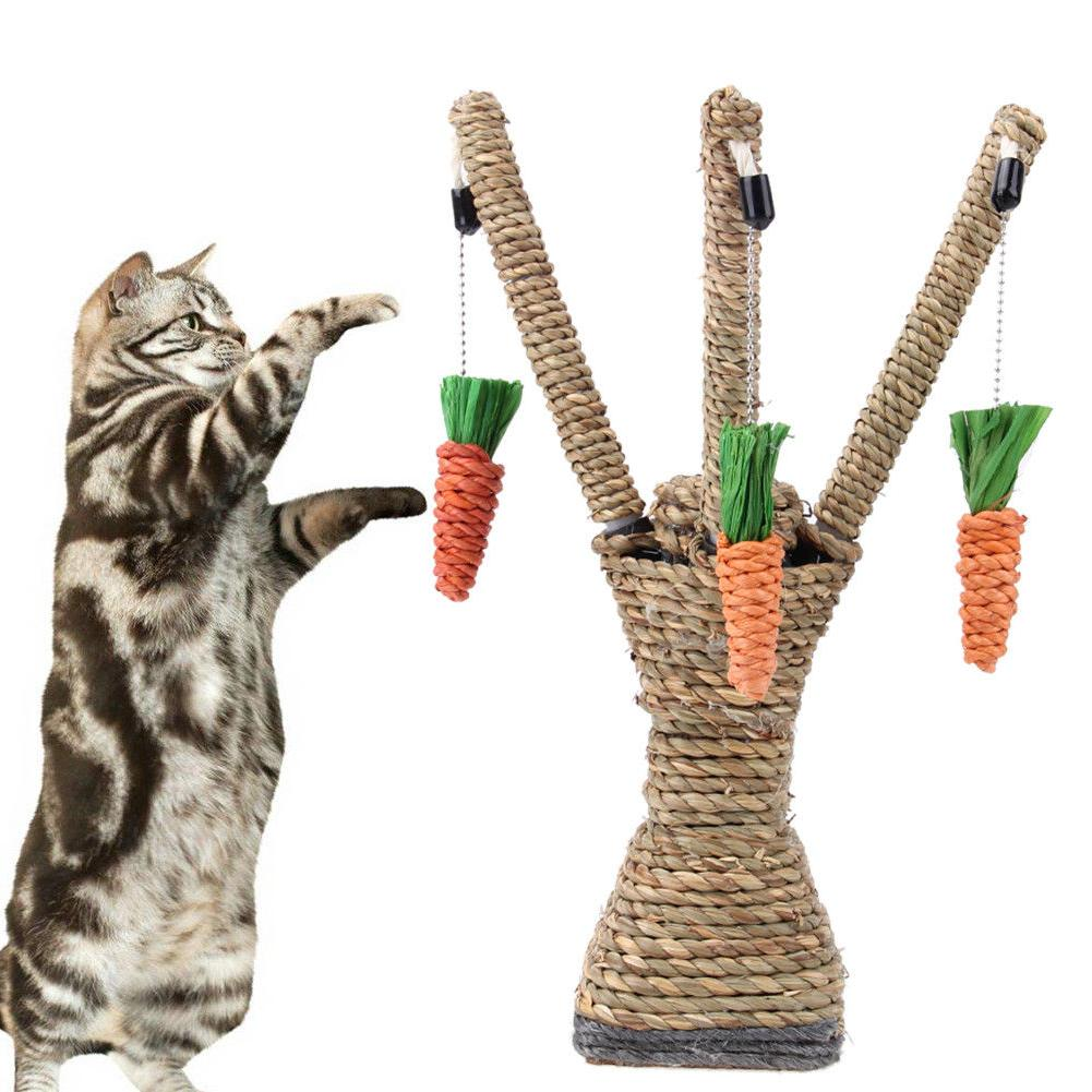 pet cat toys interactive tree tower shelves