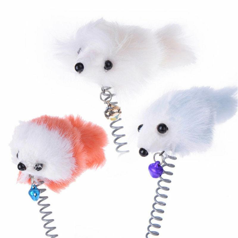 Pet Dog Cat Cut Toys Funny Mouse Toy Bell Supplies