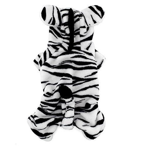 pet dog cat fleece zebra