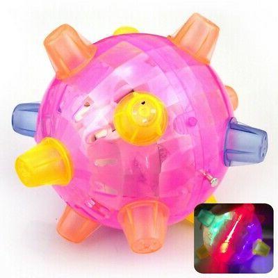 Pet Cats Ball LED Pet Play Toys Jumping Joggle