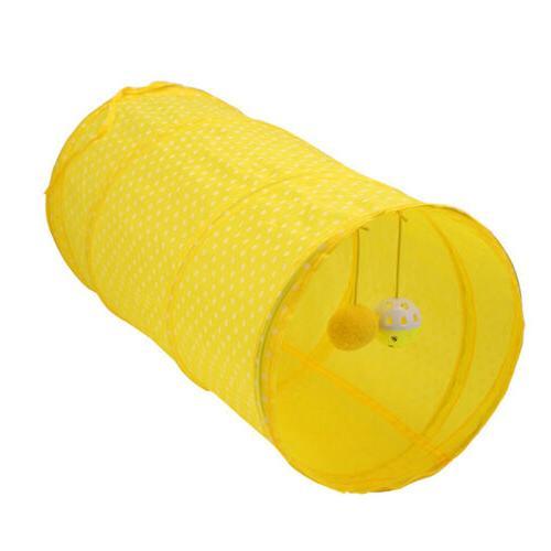 Pet Dog Cat Tent Portable Round Dot Cage Bag EW