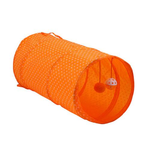 pet dog cat tent portable round dot