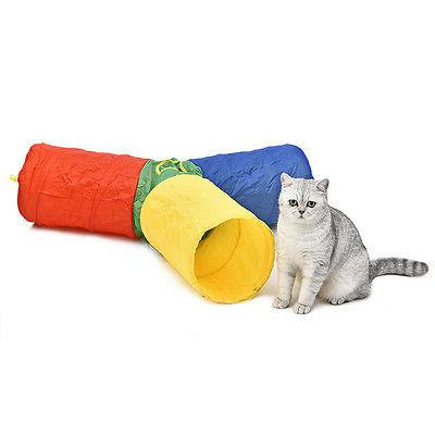 pet dog cat tunnel 3 ways y