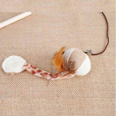 Pet Dog Kitten Interactive Teaser Wand Funny Toy