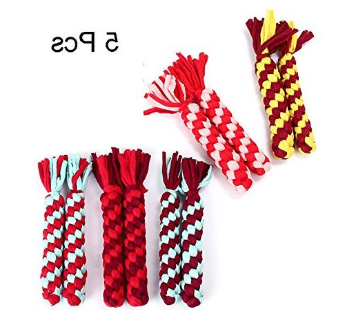 pet dog rope toys cotton