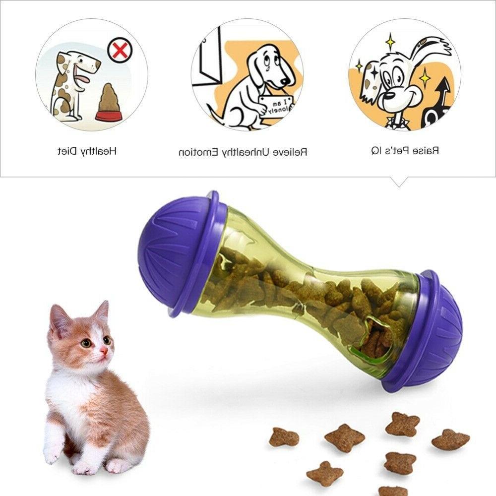 Petacc Pet Dogs Cats Fun Bowl Dog Pets Dog Tumbler Leakage