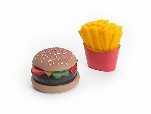 pet dso5741 vinyl burger fries
