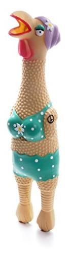 Charming Pet Products Large Grandma Hippie Chick Squeaky Lat