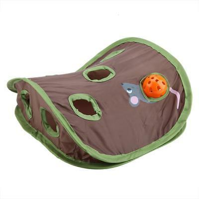 Pet Intelligence Toy Ball 9 Holes Play Tent Tunnel