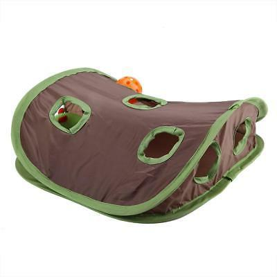 Pet Toy Ball Holes Cat Play Tunnel