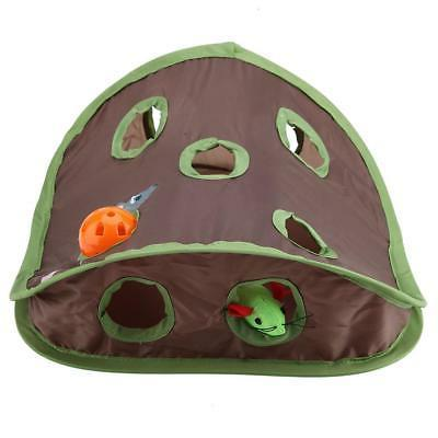 Pet Intelligence Toy Bell Ball Holes Play Tunnel