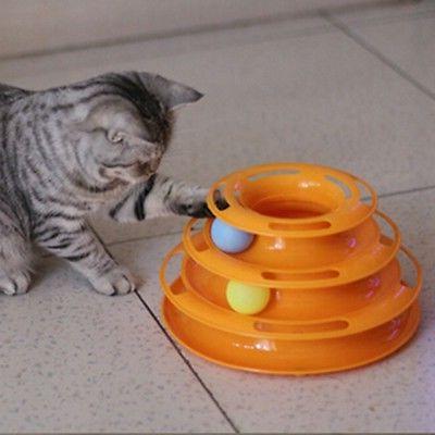 pet interactive toys cat turntable pet intellectual