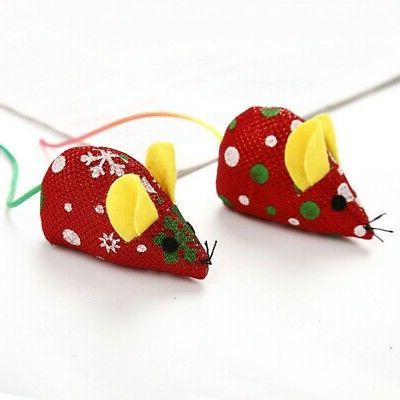 Pet Mouse Design Funny Christmas Playing Toy
