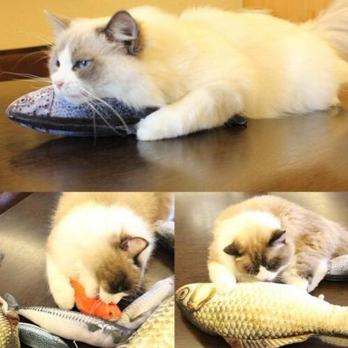 Lovely Artificial Pet Toys Sleeping Toy Cat