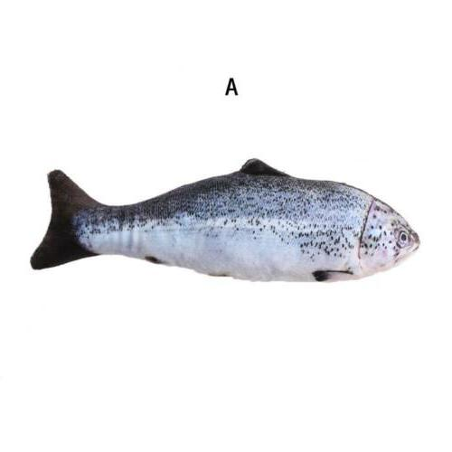 Lovely Artificial Fish Pet Cat Dog Toys Sleeping Toy