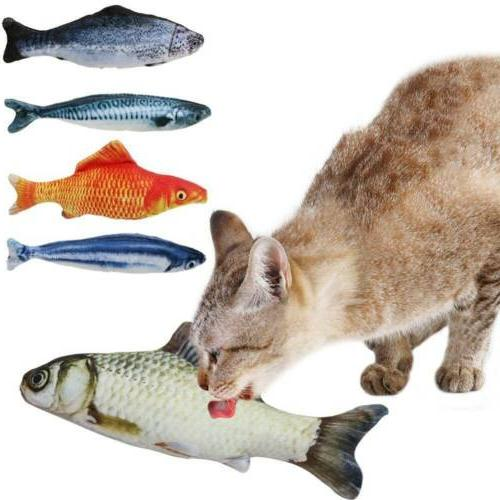 Pet Products Cat Mint Toys Pillow Chew Stick Artificial Fish