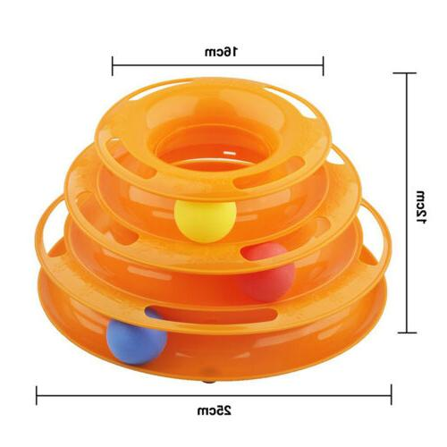 Pet Round Swivel Plate Play Interactive Toy toy