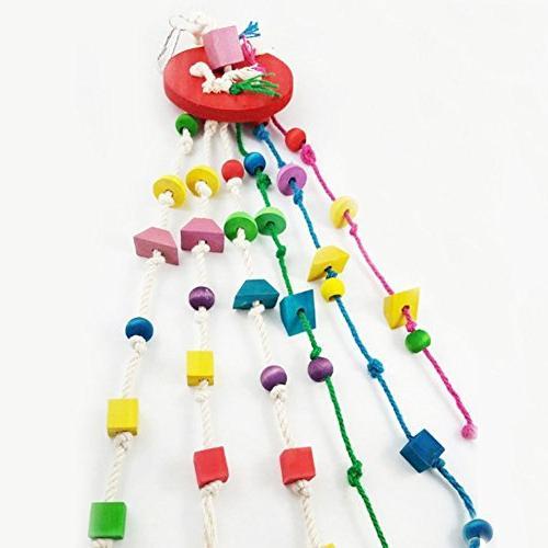 pet supplies colorful wooden block