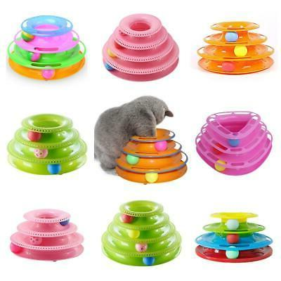 pet toys cat crazy ball disk interactive