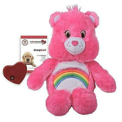 pink care bear calming snuggle