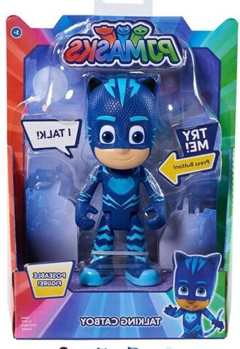 pj masks deluxe talking catboy figure toy