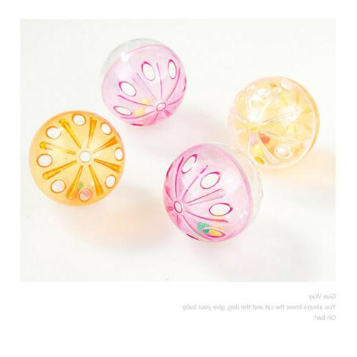 Plastic Round Ball Bell Funny
