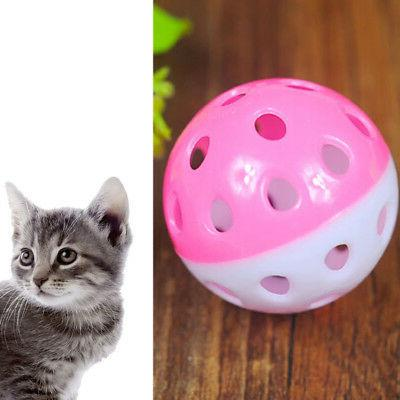Plastic Puppy Cat Round Play With Pounce Chase Chew Toys Envy