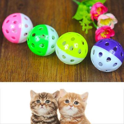 plastic puppy cat round play ball