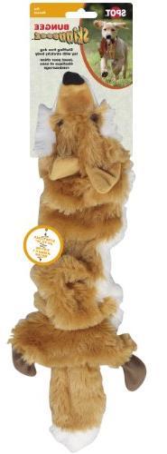 plush skinneeez bungee fox stuffingless