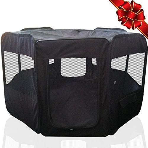 portable pet playpen puppy kennel
