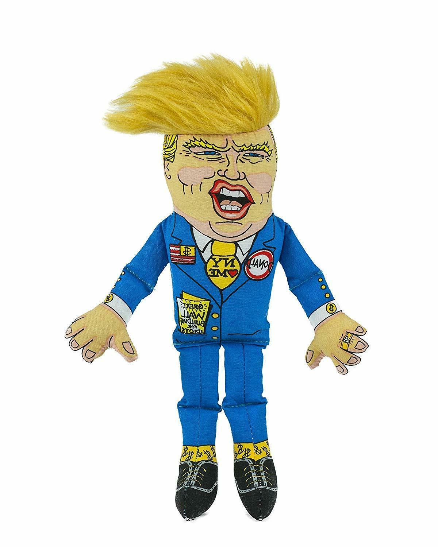 presidential parody donald dog toy