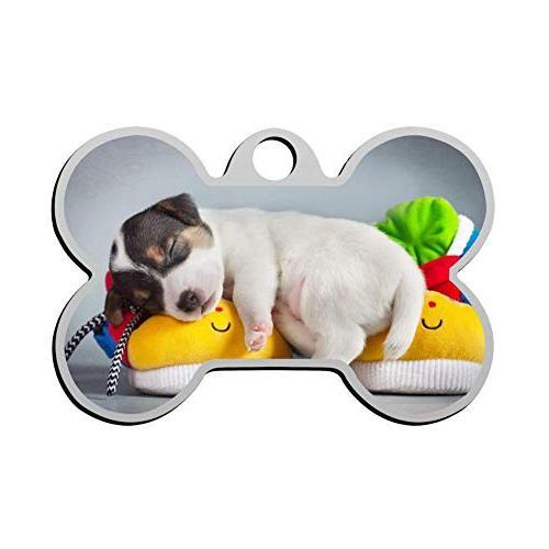 puppy sleep toy pet id