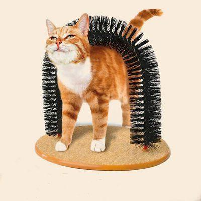 purrfect arch cat groom self grooming toy