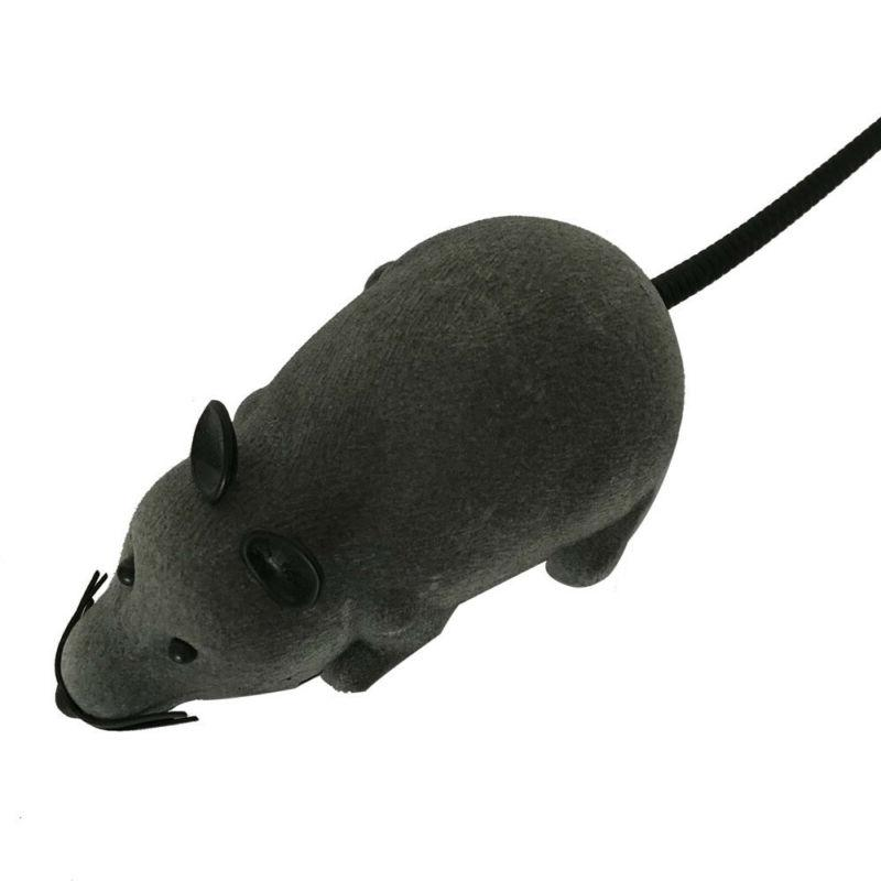 RC Funny Wireless Electronic Remote Mouse Rat Pet Cats