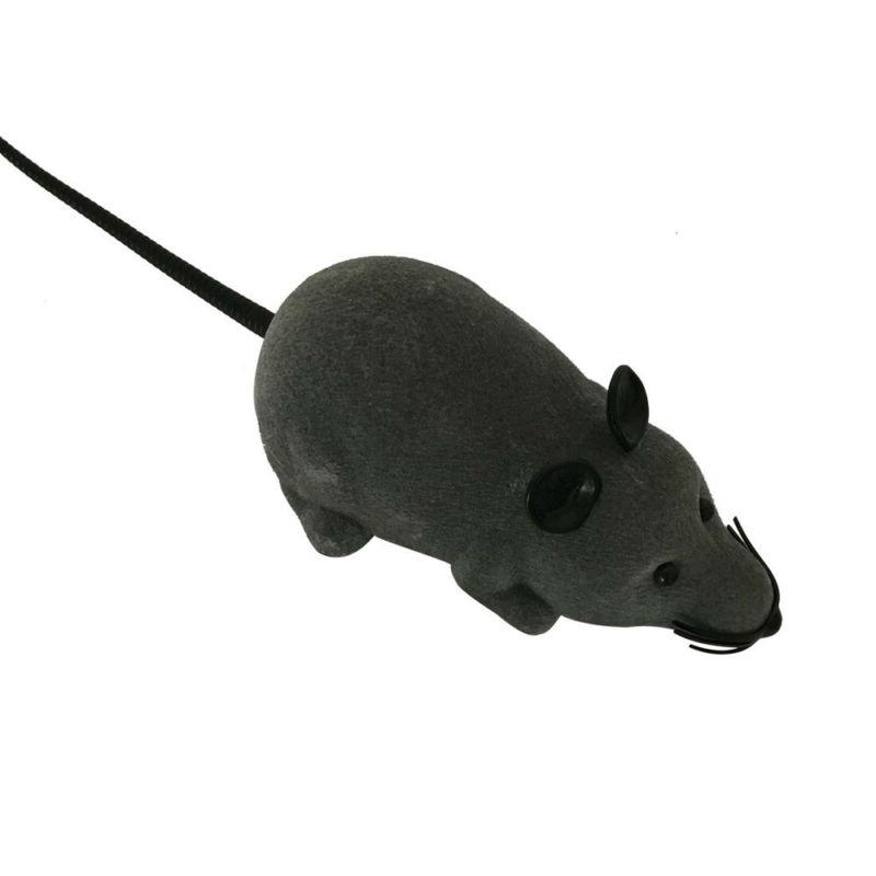 RC Funny Wireless Electronic Remote Mouse Mice Rat Toy For Cats