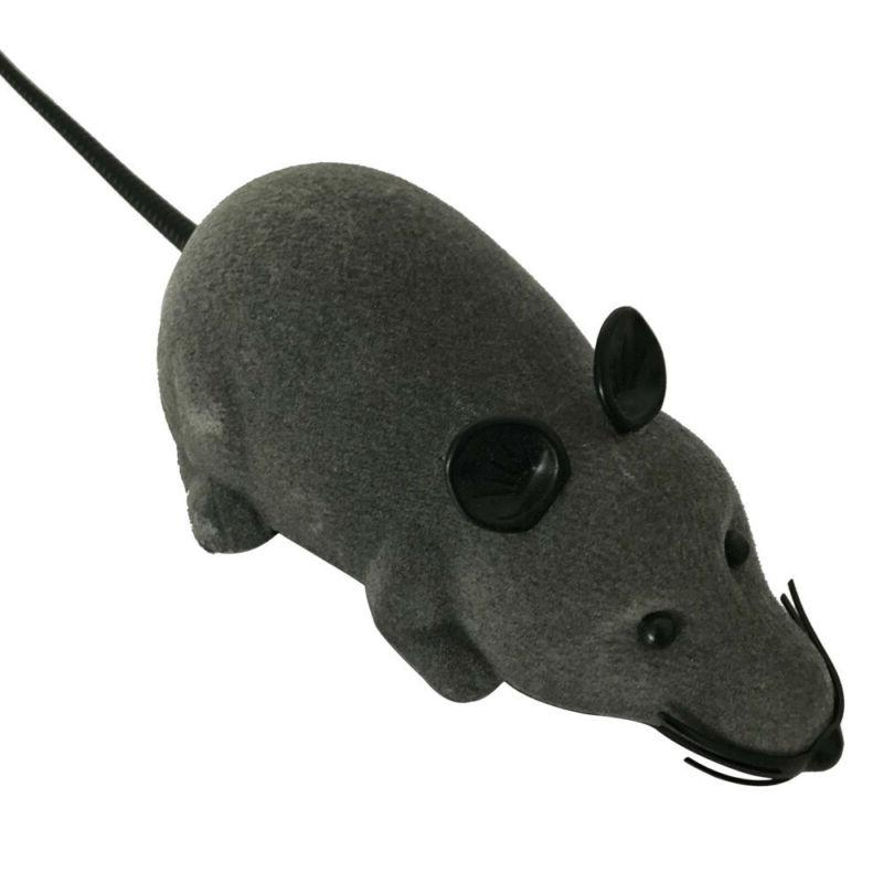 RC Funny Wireless Electronic Remote Rat Pet Toy Cats