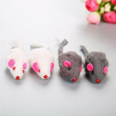 Real Rabbit Fur Cat Pet Children'S Toys Z5J7