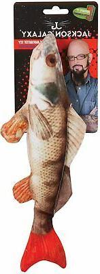 realistic fish cat pet kicker