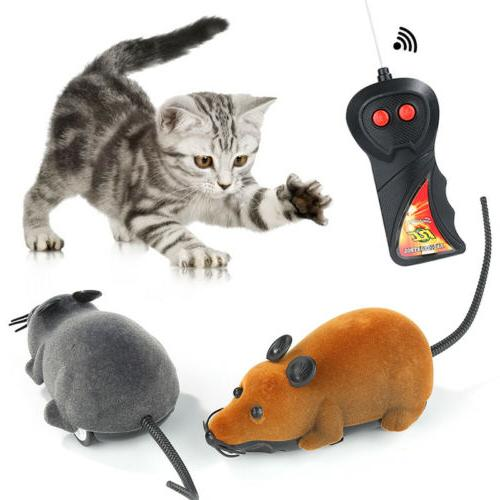 Remote Mouse Wireless Dog Funny Pet Supplies